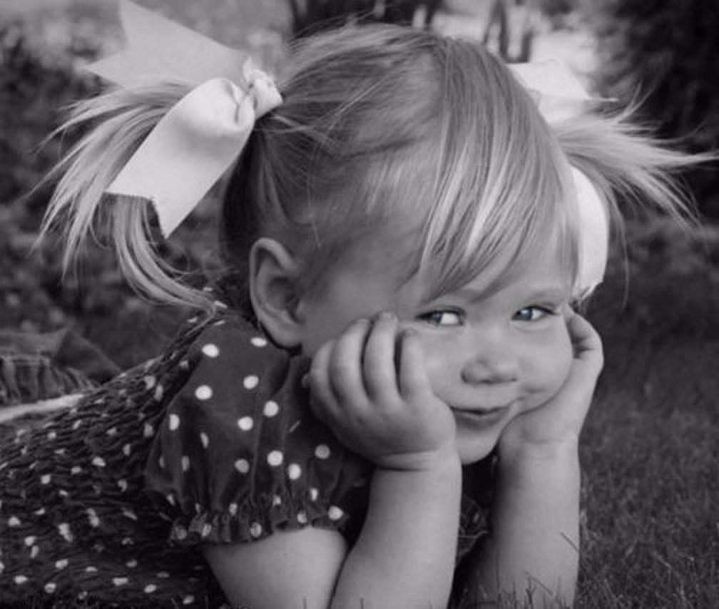 Смешная девочка фото, самая красивая