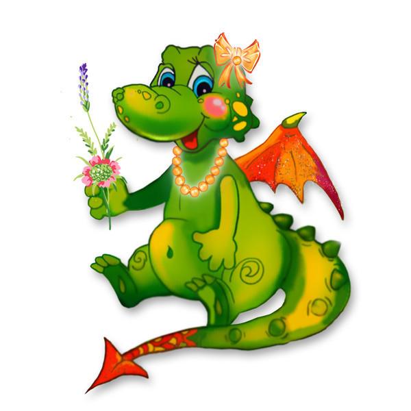 Картинки к году дракона, про