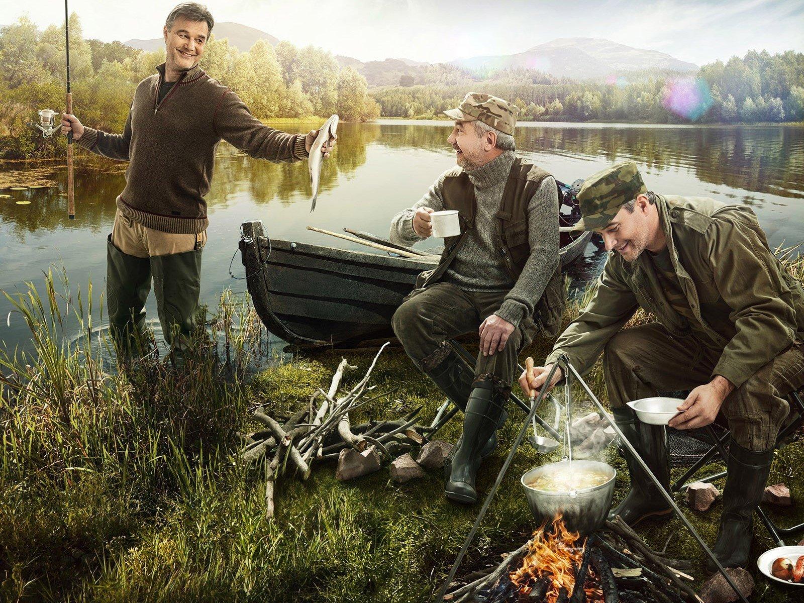 Город, красивые картинки и фото про рыбалку